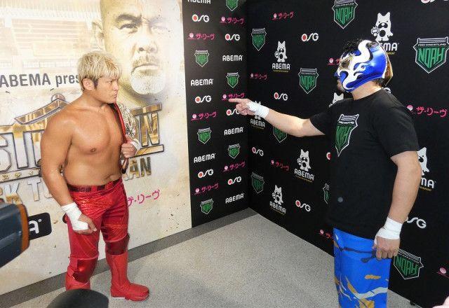 【ノア】カシン「俺がプロレス界に入ったのはそのベルトを獲るためだ」拳王のナショナル王座に挑戦表明!