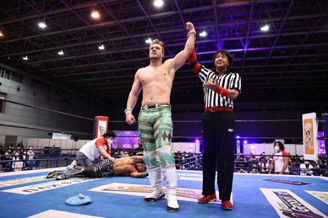 【新日本】『NJC』オスプレイがSANADAが撃破!フィンレーがジェイから劇的勝利!!<3.18静岡・全試合結果>