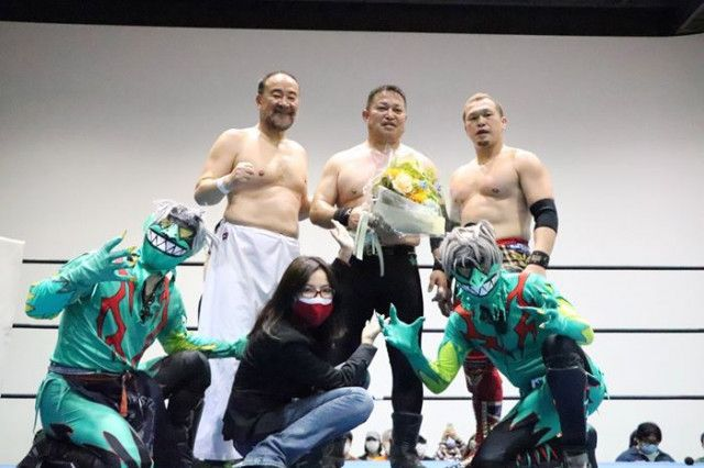 【OSW】井上雅央デビュー30周年記念試合「あっという間の30年でした。皆さんの支えがあってこの年月にたどり着けました」