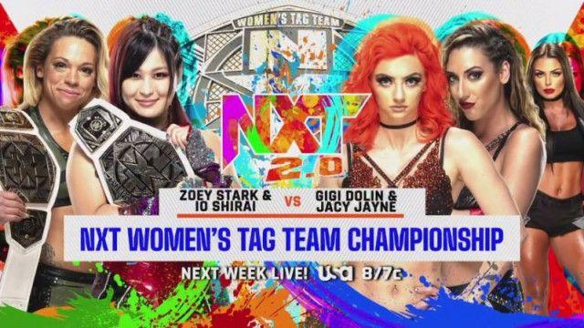 【WWE】紫雷イオ&ゾーイとトキシック・アトラクションの王座戦が次週のNXTで決定