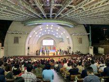 会場の上野恩賜公園野外ステージ
