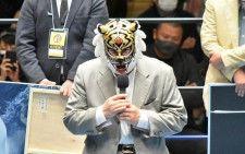 【ストロングスタイルプロレス】初代タイガーマスクがリングに登場!「この闘いを日本から世界に広げて、最高のプロレスを作っていきたい」