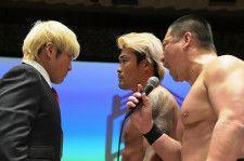 DDTのリングの登場したノアの拳王