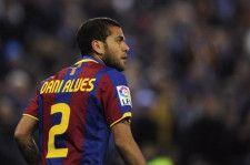 バルセロナ時代のダニエウ・アウベス photo/Getty Images