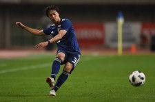 日本代表でもプレイする室屋 photo/Getty Images