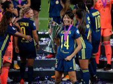 """日本人初の""""CL決勝戦ゴール""""という偉業を成し遂げた熊谷 photo/Getty Images"""