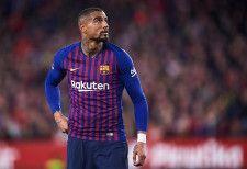 2019年冬から半年間バルセロナでプレイしたボアテング photo/Getty Images