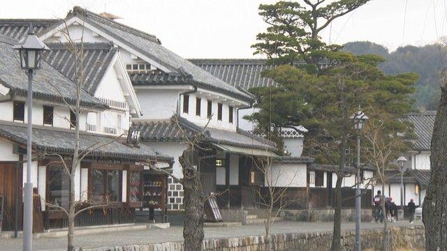 岡山県の主要観光施設 2021年1月の利用者数は前年の半分以下