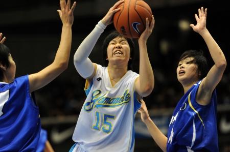高校バスケ女子 札幌山の手がV2