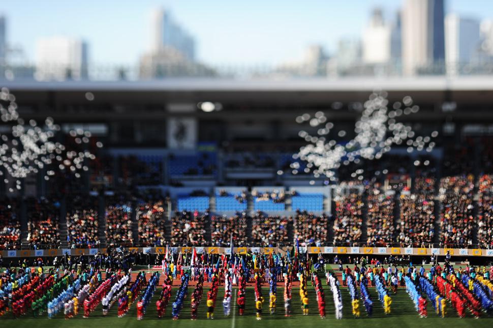 全国高校サッカー選手権大会 開会式