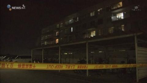 同級生の女子中学生2人 団地の5階から転落か 1人死亡 /千葉県袖ケ浦市