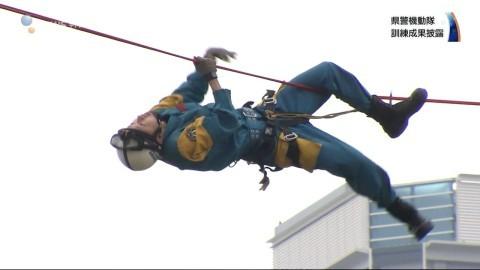 機動隊が「柏の葉・街まるごとオープンキャンパス」で日頃の成果披露