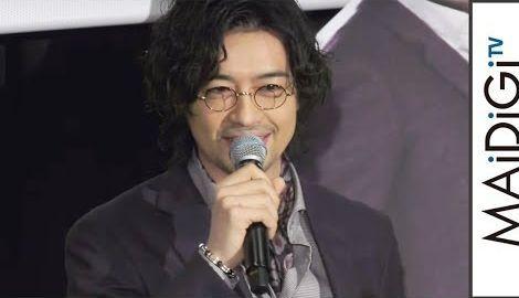 斎藤工、落ち目の俳優役に「共感」イベントで自虐連発 映画「パディントン2」イベント1