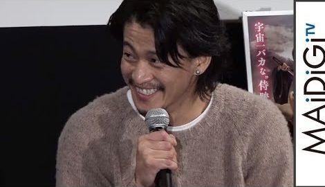 """小栗旬、ムロツヨシの""""肩パン""""であざ「途中からむかついた」映画「銀魂」トークイベント4"""