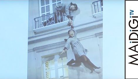 本田望結&紗来、体験型アートに大興奮!「どうなってるの?」 「レアンドロ・エルリッヒ展」開幕プレスイベント2