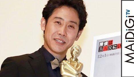 大泉洋、自身の映画祭で最優秀主演男優賞に輝く 「茶番感がひどい」と恨み節も 「第1回大泉洋映画祭」3