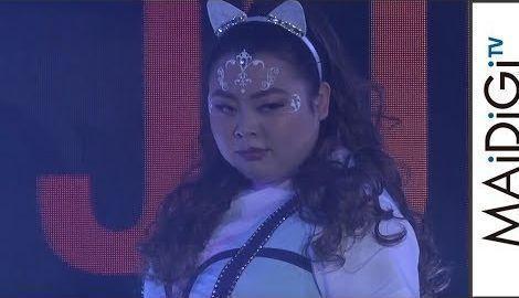 渡辺直美、アリアナ・グランデになりきり!生歌で熱唱「ENGLISH JUKEBOX」イベント1