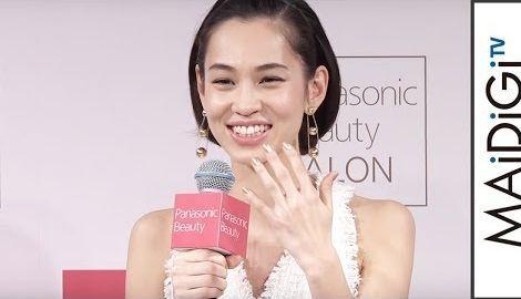 水原希子、最新美容家電を体験 「Panasonic Beauty SALON 表参道」オープニングイベント2