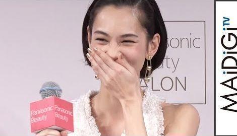 水原希子、自らの感想に照れ笑い 「Panasonic Beauty SALON 表参道」オープニングイベント3