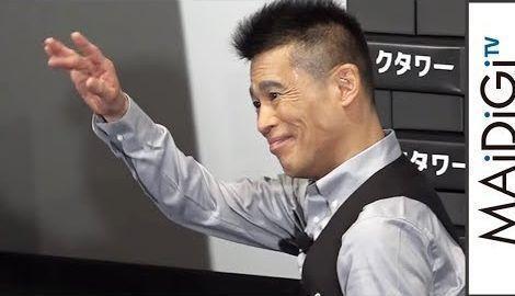"""柳沢慎吾、""""宿敵""""中井貴一のものまね生披露 映画「ダークタワー」イベント2"""