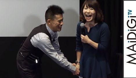 柳沢慎吾が自由すぎる!司会に「台本なんていいんだよ」 映画「ダークタワー」イベント3