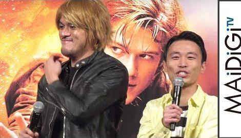 カミナリたくみ、相方・まなぶの即興ギャグに笑い止まらず 米ドラマ「MACGYVER/マクガイバー」DVD発売記念イベント3