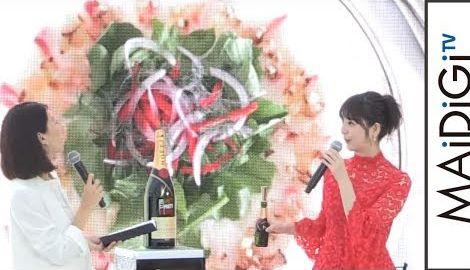 佐々木希、手料理写真を公開 秋田食材使ったレシピも披露 「モエ・エ・シャンドン」イベント2