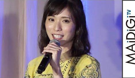 松岡茉優、シースルーの涼しげワンピで初夏の装い 劇場版アニメ「カーズ/クロスロード」イベント2