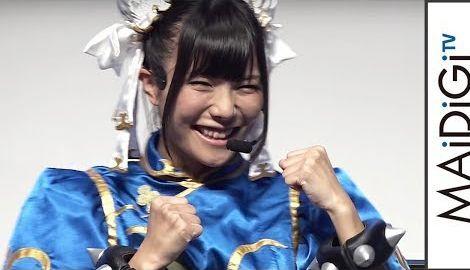 仮面女子・立花あんな、春麗コスプレでゲーム対決 「マーベル VS. カプコン:インフィニット」イベント2