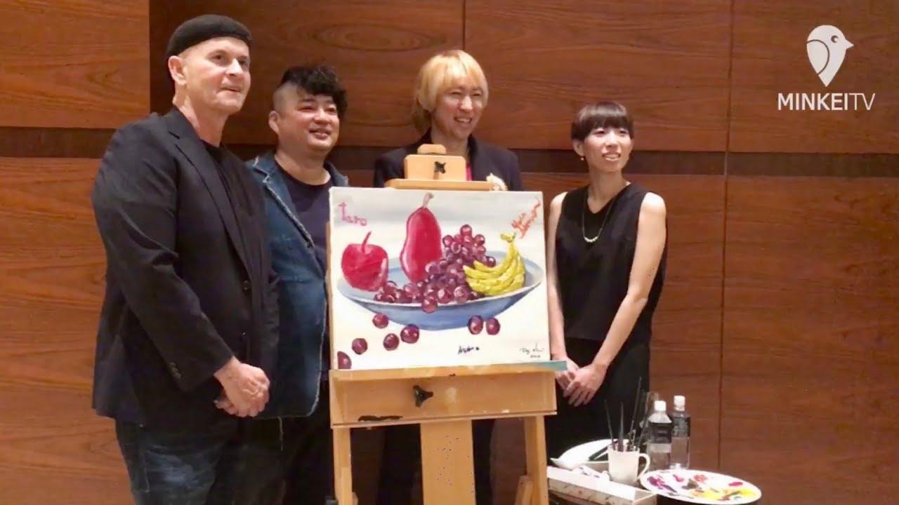 インターコンチネンタル大阪でクリスマスアートイベント