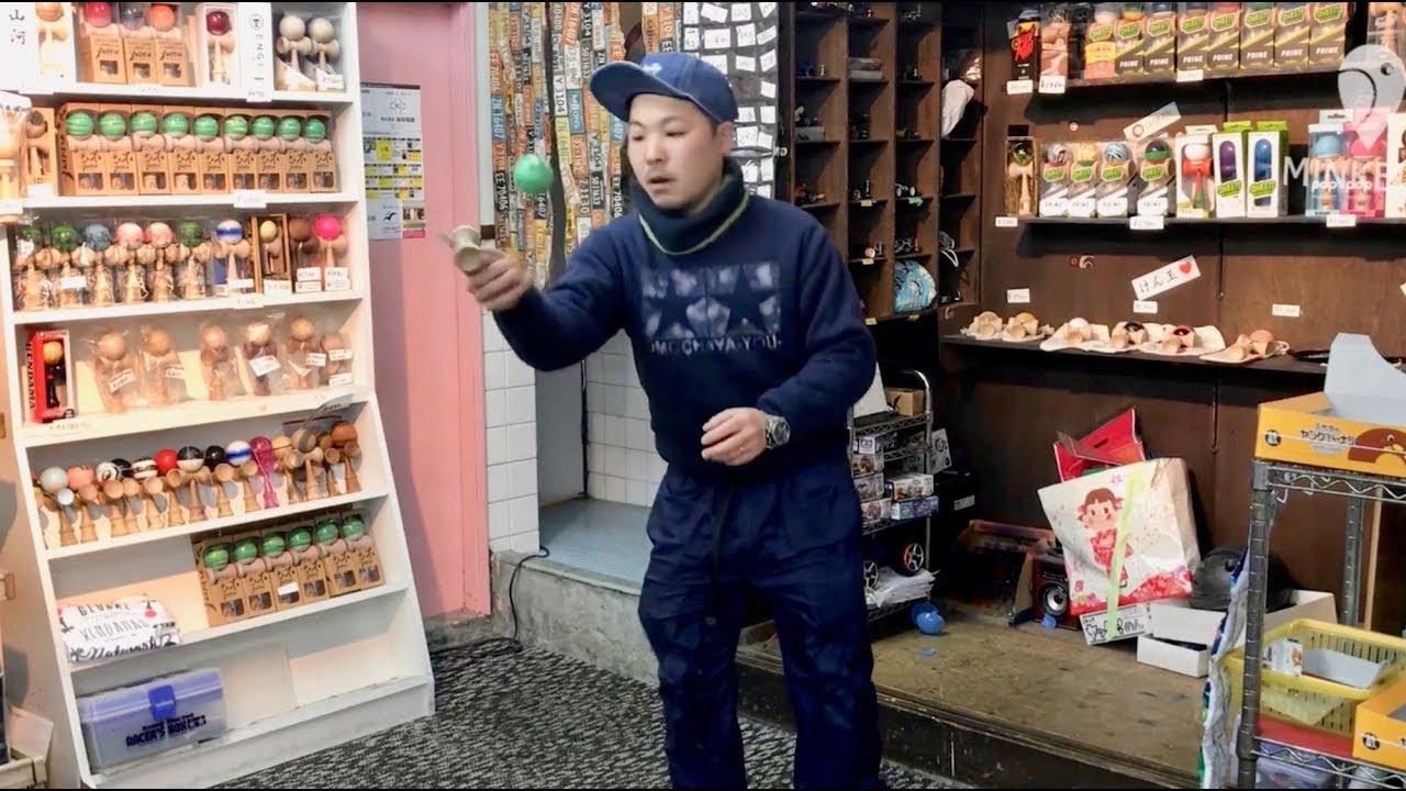 大阪・弁天町のけん玉専門店が1周年