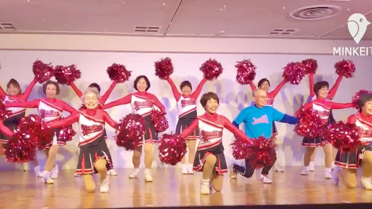 なんば高島屋でダンスイベント 平均年齢65歳のチームも