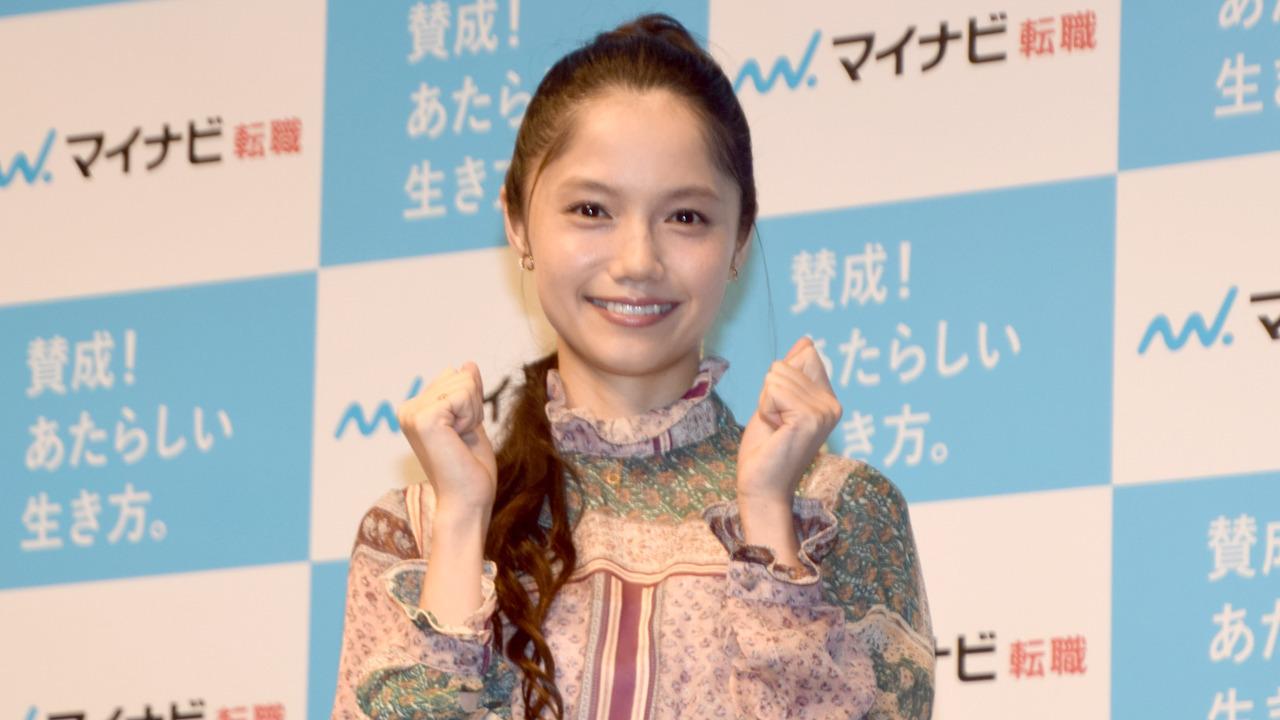 宮崎あおい、結婚祝福され笑顔「ありがとうございます」 左手薬指に結婚指輪なし