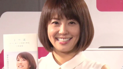 小林麻耶、復帰後初公の場 休養に自責の念も「妹の明るさに救われた」