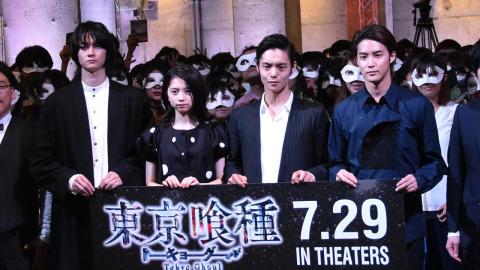 窪田正孝『東京喰種』実写化は「自分を消す作業から」 サプライズ登場に200人熱狂