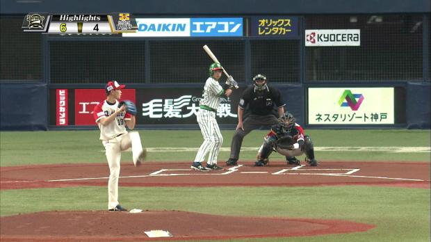 4月29日 オリックスバファローズ対福岡ソフトバンクホークス ハイライト