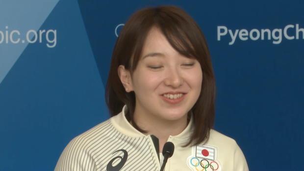 銅メダルのカーリング藤沢「北海道なまり気づかなかった」