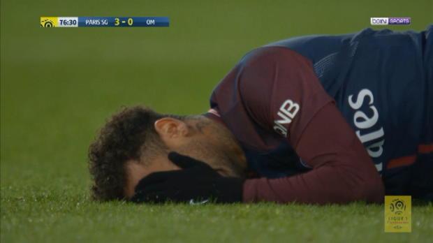 マルセイユ戦でネイマールが負傷退場-CLレアル戦前にPSGに大誤算