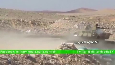 シリア軍パルミラを攻撃、地上部隊が遺跡の街を掌握