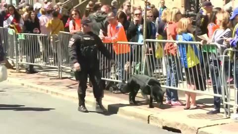 ボストン・マラソン、5000人の警備体制で臨む