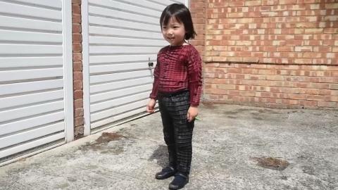 子供にあわせて「成長する服」開発、折り紙から着想(字幕・25日)