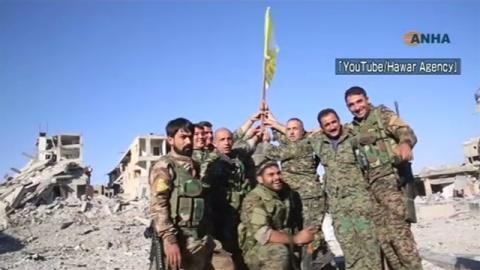 """シリア民主軍、「イスラム国」""""首都""""を完全制圧"""