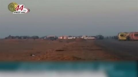 エジプトでイスラム武装勢力と銃撃戦、治安部隊側54人が死亡