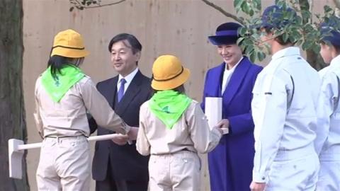 皇太子ご夫妻、14年ぶりにそろって育樹祭に出席