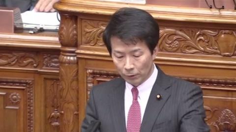 参院代表質問、民進・大塚代表が北朝鮮対応で首相見解質す