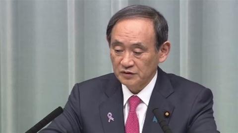 北朝鮮寄港疑いの貨物船出港、菅長官「検証と再発防止を」