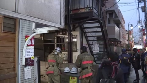 東京・練馬区のアパートで火事、女性死亡