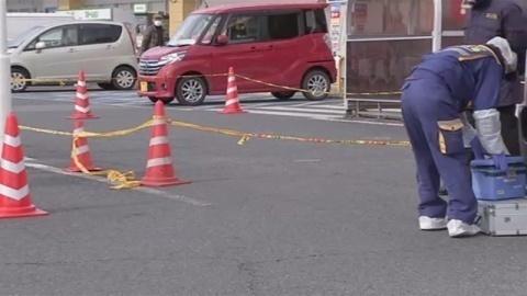 スーパーの駐車場で71歳女性ひき逃げした疑い、無職の男逮捕