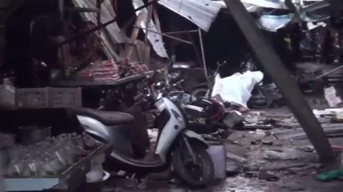 タイ南部の市場で爆弾テロか、3人が死亡・22人けが
