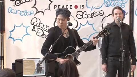 日本人ギタリスト・Miyaviさん、国連本部で演奏